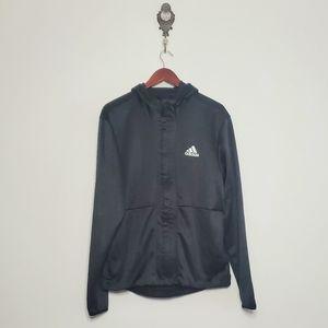Adidas Lightweight Hooded Full Zip Jacket